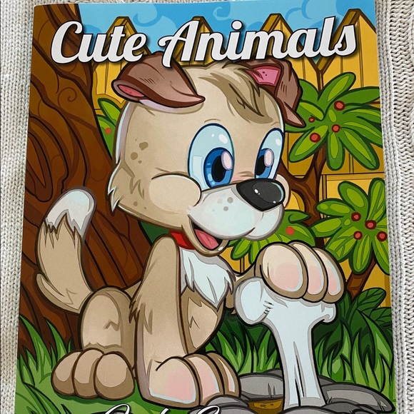 Jade Summer Other Cute Animals Coloring Book By Jade Summer Nwt Poshmark